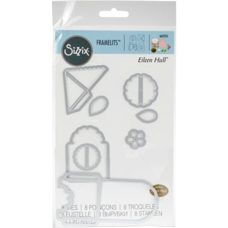 Sizzix - Framelits Dies By Eileen Hull - Bookmark, Tag & Pocket - 662355