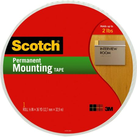 Scotch® Double-Sided Foam Mounting Tape