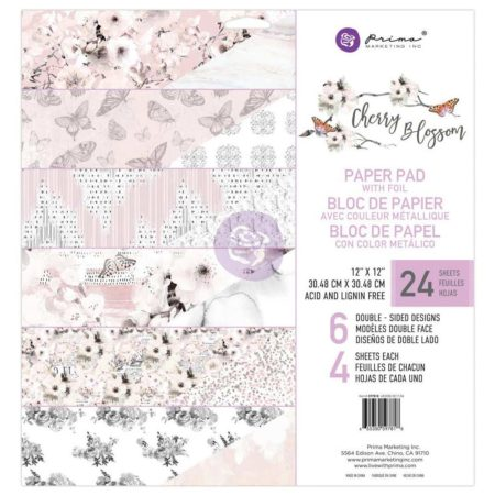 Prima Marketing - Cherry Blossom m/Foil - 597818