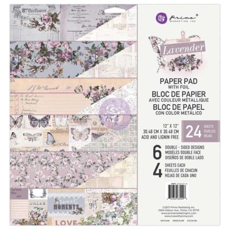 Prima Marketing - Lavender - m/Foil - 630096