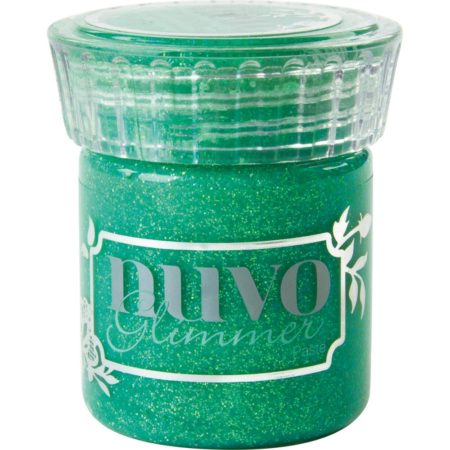Nuvo Glimmer Paste - Peridot Green - 958N