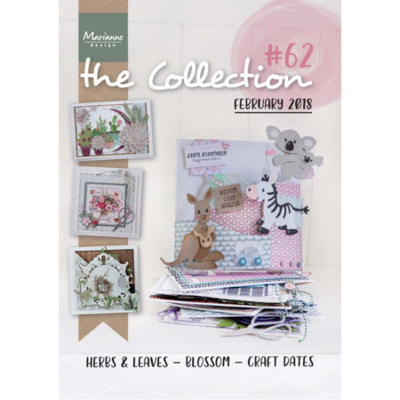 Marianne Design modelhæfte - THE COLLECTION #62 - CAT1362