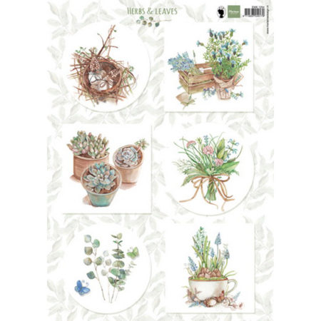 Marianne Design 3D ARK - Herbs & Leaves - EWK1254