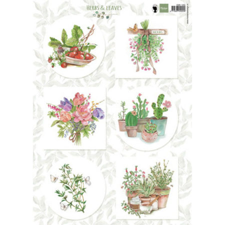 Marianne Design 3D ARK - Herbs & Leaves 2 - EWK1255