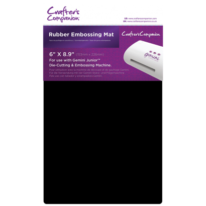 CRAFTERS COMPANION GEMINI JUNIOR RUBBER EMBOSSING MAT