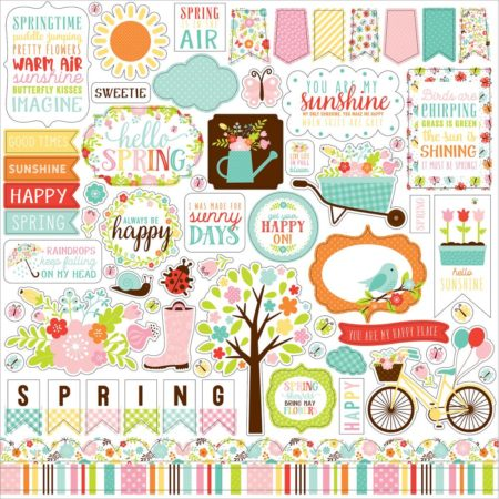 Echo Park Paper Kit - Hello Spring - HES144016