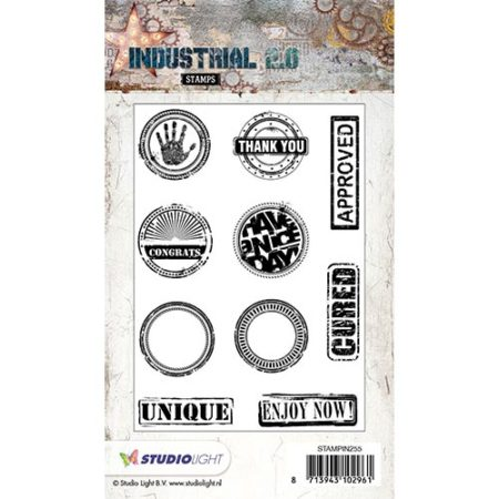 Studio Light - Industrial. 2.0 - STAMPIN255
