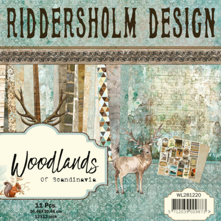 "Riddersholm Design - Woodlands Of Scandinavia - 12x12"" - WL281220"