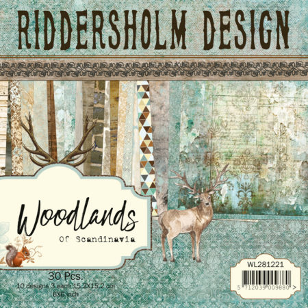 "Riddersholm Design - Woodlands Of Scandinavia - 6x6"" - WL281221"