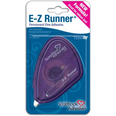 Scrapbook Adhesives  E-Z Runner Grand - Permanent vellum Adhesive - 01643