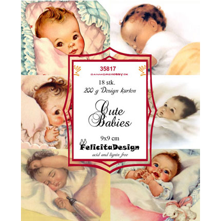 Felicita Design Toppers - Cute Babies - 35817