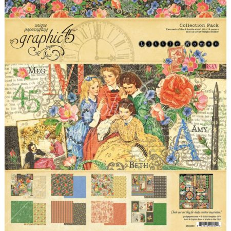 Graphic 45 - Double-Sided Paper Pad - Little Women