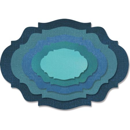 Sizzix - Thinlits - Stacked Baroque - 662693