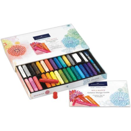 FABER-CASTELL - Mix & Match Gelatos Gift Set