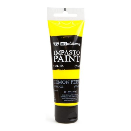Prima - Finnabair Art Alchemy - Impasto Paint - Lemon Peel