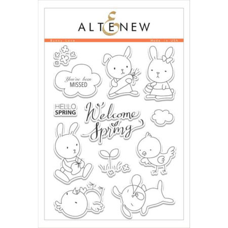 Altenew - Bunny Love Stamp Set
