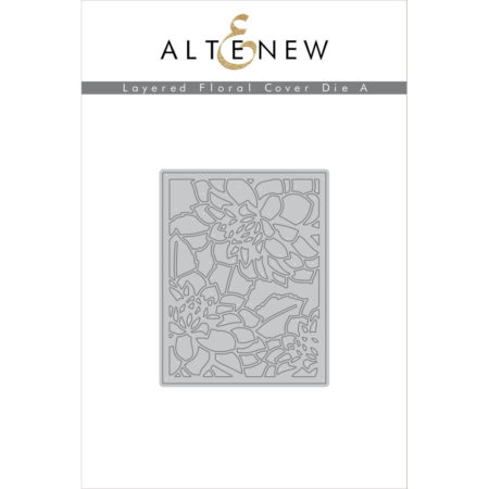 Altenew - Layered Floral Cover Die A