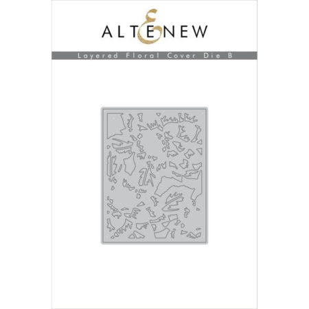 Altenew - Layered Floral Cover Die B