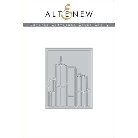 Altenew - Layered Cityscape Cover Die A