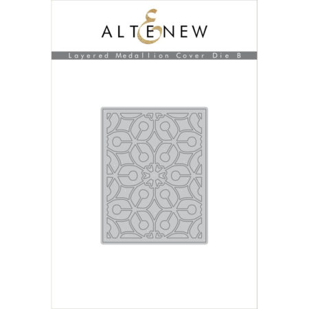 Altenew - Layered Medallions Cover Die B