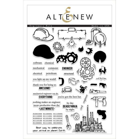 Altenew - Engineers Rule Stamp Set