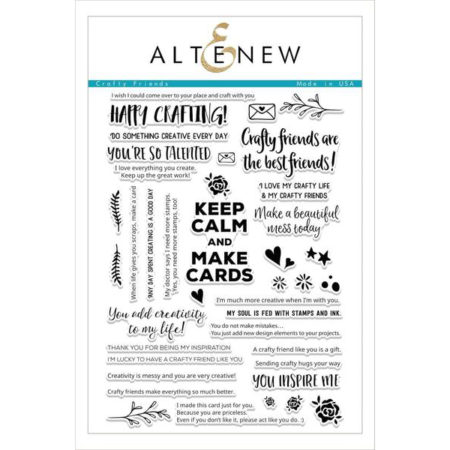 Altenew - Crafty Friends Stamp Set