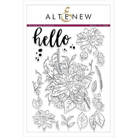 Altenew - Blooming Bouquet Stamp Set