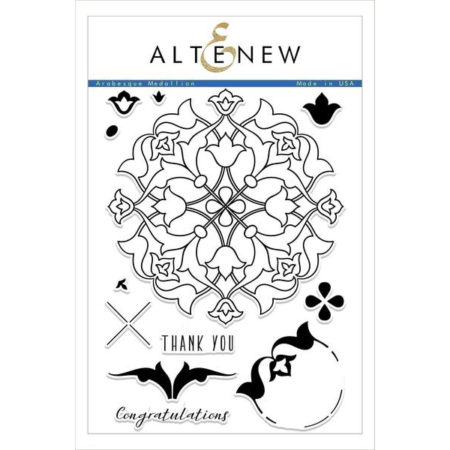 Altenew - Arabesque Medallion Stamp Set