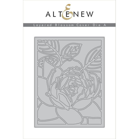 Altenew - Layered Blossom Cover Die A