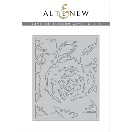 Altenew - Layered Blossom Cover Die B