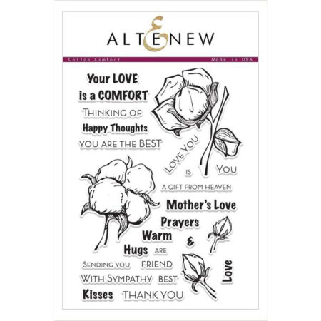 Altenew - Cotton Comfort Stamp Set