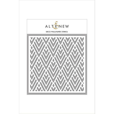 Altenew - Deco Wallpaper Stencil