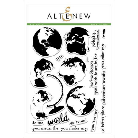 Altenew - Big World Stamp Set