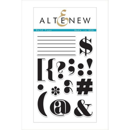Altenew - Bold Type Stamp Set