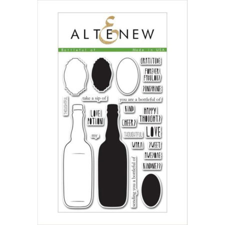 Altenew - Bottleful of Stamp Set