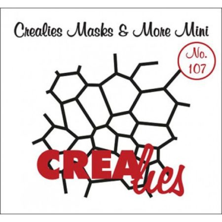 CREALIES STENCIL MASK & MORE MINI - HEXAGON (SEKSKANT)