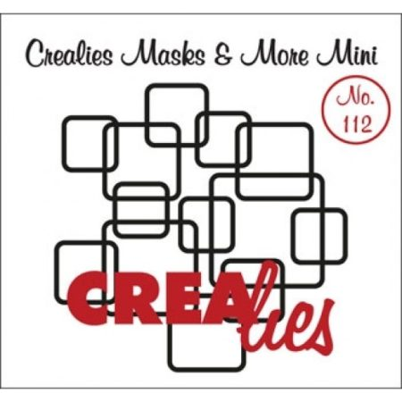 CREALIES STENCIL MASK & MORE MINI - FIRKANTER
