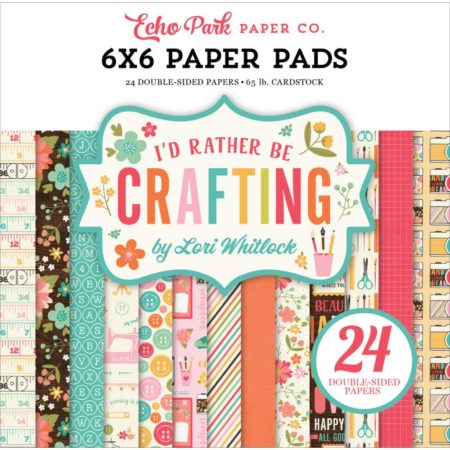 Echo Park Paper - I'd Rather Be Crafting - IBC138023