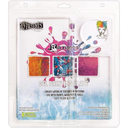 Ranger Gel Plate Dylusions - Assortment
