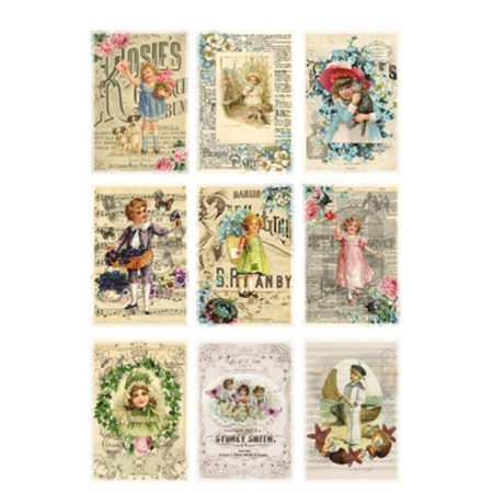 REPRINT Klippeark - Cutouts Antique Posters - KP0030