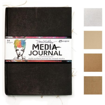 "Dina Wakley Media - Media Journal 8""X10"""