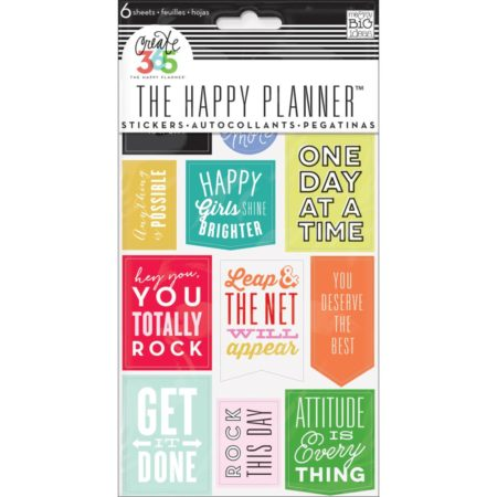Happy Planner Create 365 Sticker - Get It Done