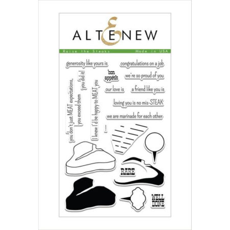 Altenew - Raise the Steaks Stamp Set
