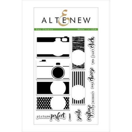 Altenew - Say Cheese Stamp