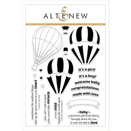 Altenew - Baby Balloon Stamp Set