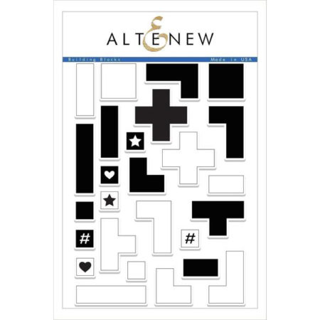 Altenew - Building Blocks Stamp Set