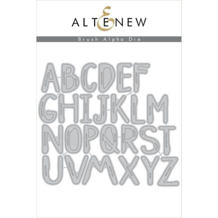 Altenew - Brush Alpha Die Set