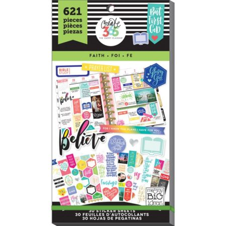 Happy Planner Create 365 Sticker - Faith - Classic