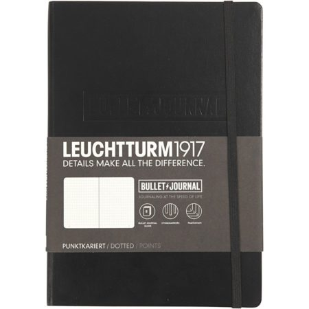 LEUCHTTURM1979 - Bullet / Journal - Sort