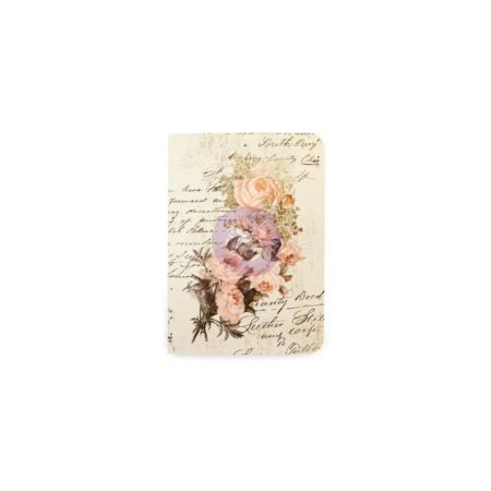 Prima Traveler's Journal Refill Passport - Dusty Roses